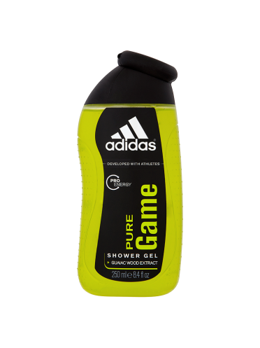 Adidas Pro Energy Pure Game Shower Gel with Guaiac Wood Extract 250ml