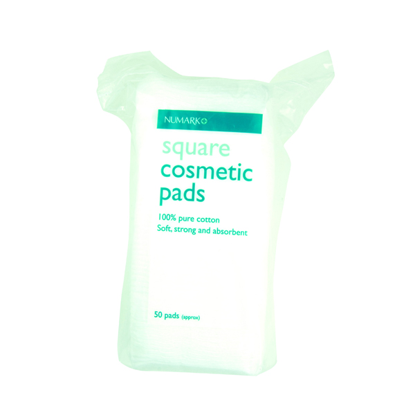 Numark Square Cosmetic Pads