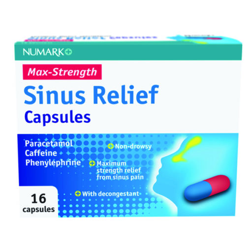 Numark Max Strength Sinus Relief Capsules