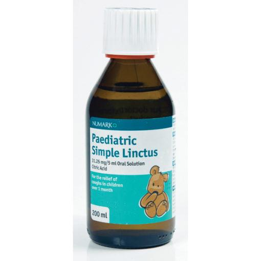 Numark Paediatric Simple Linctus