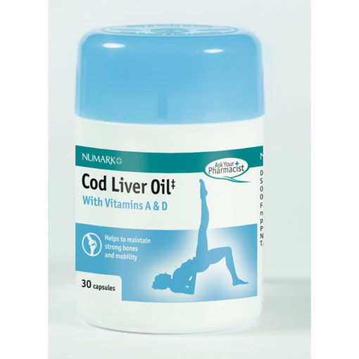 Cod Liver Oil with Vitamins A&D Capsules