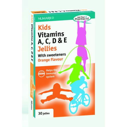 Kid's Vitamins A,C,D & E Jellies