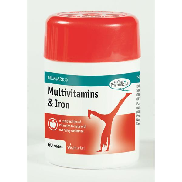 Multivitamins & Iron Tablets