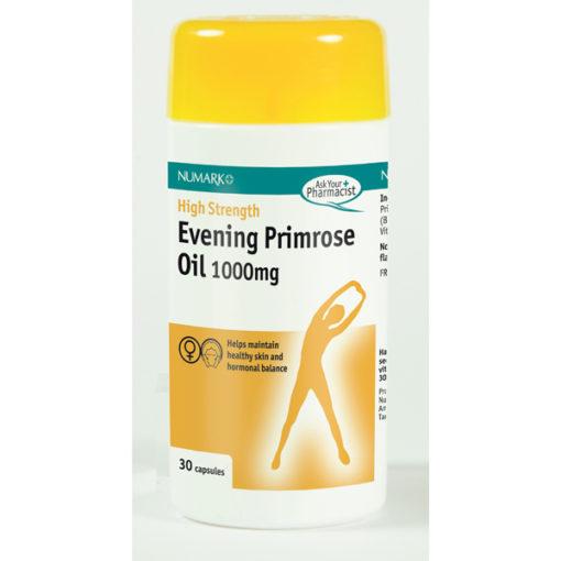 Evening Primrose Oil 1000mg High Strength Capsules