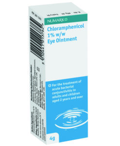 Numark Chloramphenicol 1% Eye Ointment