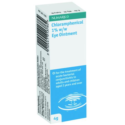 Numark Chloramphenicol 1% Eye Ointment