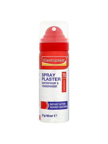 Elastoplast Spray Plaster 70 Applications 40ml