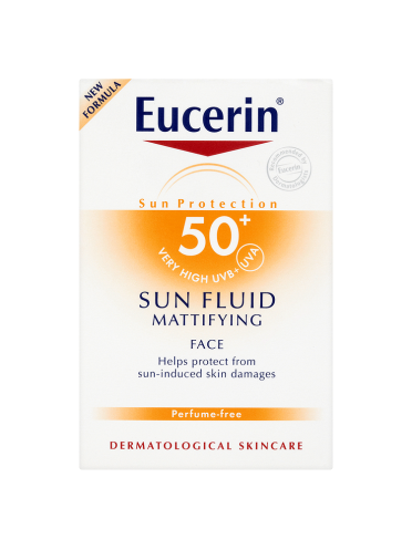 Eucerin Sun Protection Sun Fluid Mattifying Face 50+ Very High 50ml