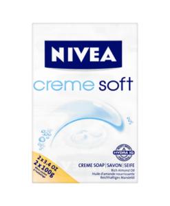 NIVEA Creme Soft Creme Soap 2 x 100g