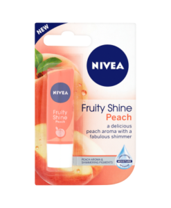 NIVEA Fruity Shine Peach Lip Balm 4.8g