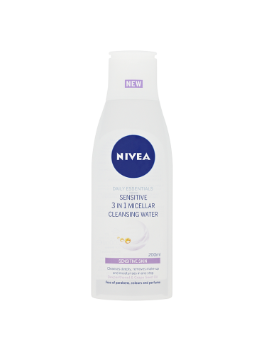 NIVEA Daily Essentials Sensitive 3in1 Micellar Cleansing Water 200ml
