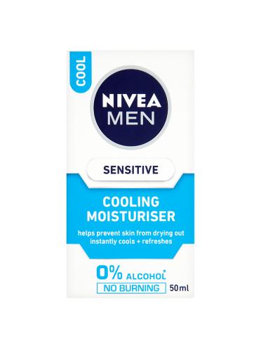 NIVEA MEN Sensitive Cooling Moisturiser Cool 50ml