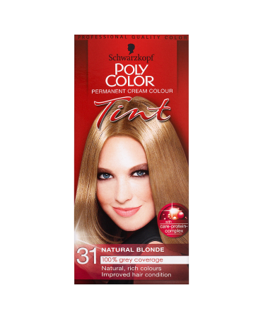 Schwarzkopf Poly Color Permanent Cream Colour Tint 31 Natural Blonde