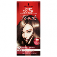 Schwarzkopf Poly Color Permanent Cream Colour Tint 39 Natural Brown