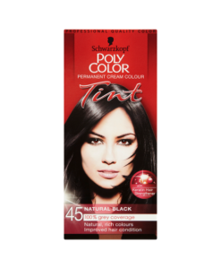 Schwarzkopf Poly Color Permanent Cream Colour Tint 45 Natural Black