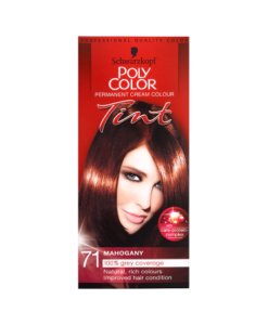 Schwarzkopf Poly Color Permanent Cream Colour Tint 71 Mahogany