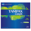 Tampax Compak Super Applicator Tampons x20