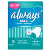 Always Maxi Pads Normal with Wings x 16 Pads