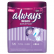 Always Maxi Sanitary Towels Soft and Fresh Long Without Wings 14 Pads