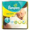 Pampers New Baby Size 1 (Newborn) Carry Pack 23 Nappies