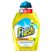 Flash Liquid Gel Crisp Lemons Concentrated All Purpose Cleaner 400ml
