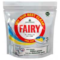 Fairy Platinum All in One Lemon Dishwasher Tablets 3 Pack