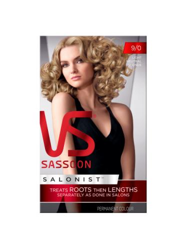 Vidal Sassoon Salonist Permanent Hair Colour 9/0 Light Neutral Blonde