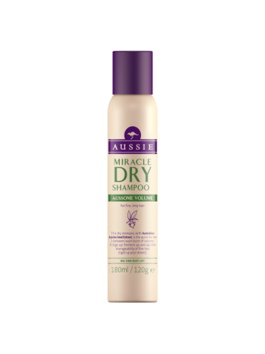 Aussie Miracle Dry Shampoo Aussome Volume for fine, limp hair 180ml