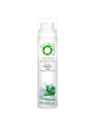 Herbal Essences Clearly Naked (0%) Dry Shampoo 65ml, no water