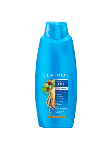 Clairol 5in1 Shampoo Ginseng for Hair Strength 200ml