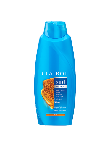 Clairol 5in1 Shampoo Honey for Hair Shine 400ml
