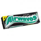 Wrigley's Airwaves Black Mint Flavour Sugarfree Chewing Gum 14g