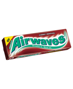 Wrigley's Airwaves Cherry Menthol Flavour Sugarfree Chewing Gum 14g