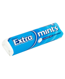 Wrigley's Extra Mints Peppermint 16 Sugarfree Mints 28g