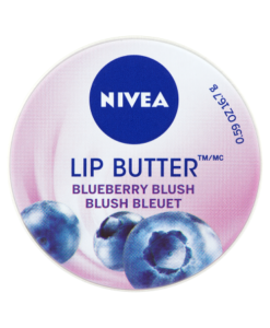 NIVEA Lip Butter Blueberry Blush 16.7g