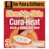Cura-Heat Neck & Shoulder Pain 3 Heat Patches