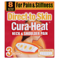 Cura-Heat Neck & Shoulder Pain 3 Heat Patches
