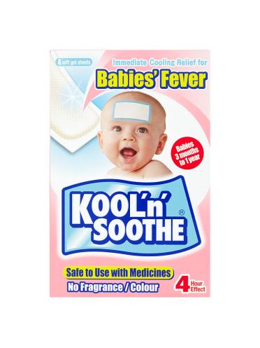 Kool 'n'Soothe 4 Soft Gel Sheets