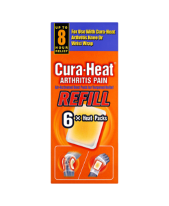 Cura-Heat Arthritis Pain Refill 6 x Heat Packs