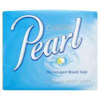 Cussons Pearl Creamy White Soaps 4 x 90g