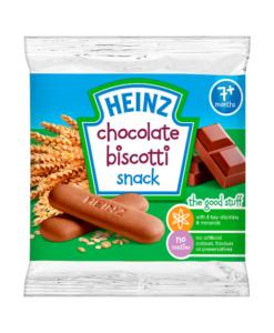 Heinz 7+ Months Chocolate Biscotti Snack 60g