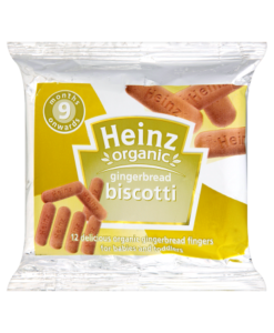 Heinz 9 Months Onwards Organic Gingerbread Biscotti 60g