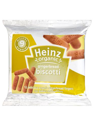 Heinz 9 Months Onwards Organic Gingerbread Biscotti 60g