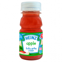 Heinz 4+ Months Apple Fruity Spring Water 150ml