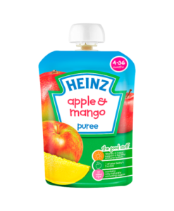 Heinz 4-36 Months Apple & Mango Puree 100g