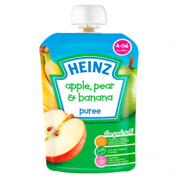 Heinz 4-36 Months Apple, Pear & Banana Puree 100g