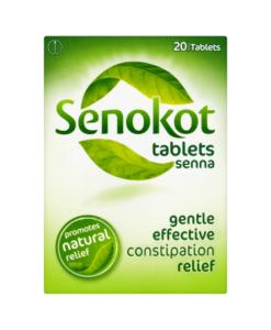 Senokot Tablets Senna 20 Tablets