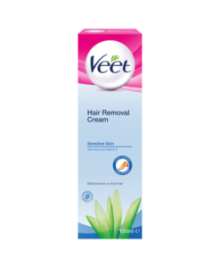Veet Hair Removal Cream Sensitive Skin Aloe Vera and Vitamin E 100ml