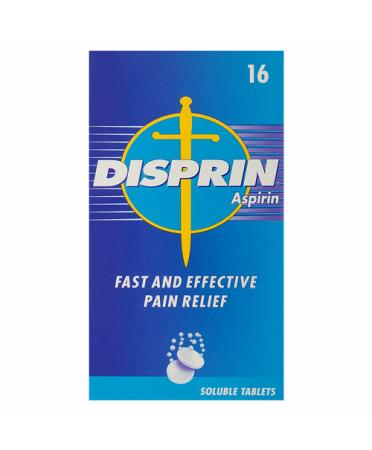 Disprin Aspirin 16 Soluble Tablets