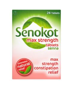 Senokot Max Strength Tablets Senna 24 Tablets